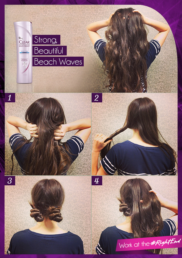 How to get beach waves on short hair without heat