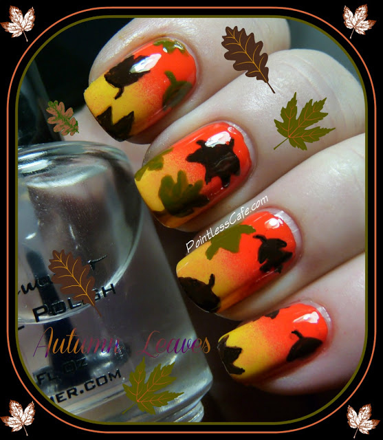 Snazzy nail ideas for thanksgiving