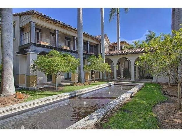 Just like Cher, Billy Joel, Rosie O'Donnell and a slew of other celebrities who have either sold or are looking to sell their Miami area homes, Matt Damon wants to move along.The Oscar-winning screenwriter and actor is so eager to get a sale on his sprawling Miami abode that he's dropped the price $1 million plus a little extra. By taking the list price from $20M down to $18.999, Damon hopes to accelerate the sale process on the two-parcel property he bought back in 2005 for a combined $14.6 million. His near $20 million price tag is pricey, but out of the 3,401 homes for sale in Miami Beach, his isn't near the most expensive (which rings in at $40 million).Located on N. Bay Road where his neighbors have been the likes of Alex Rodriguez, Ricky Martin and Shakira, Damon's Mediterranean-style home is a whopping 12,705 square feet. The two lots combine for just about a half an acre and includes 1,750 feet of waterfront access on Biscayne Bay. The two-story main house boasts 7 bedrooms, 10 baths, a home theater, gourmet kitchen, and master suite with private, ocean-facing terrace. There's also a pool house with full kitchen and rooftop terrace, as well as a guesthouse. Damon, his wife and four kids are currently ensconced in a $15 million L.A. area home he bought in 2012 near his buddy Ben Affleck in Pacific Palisades.