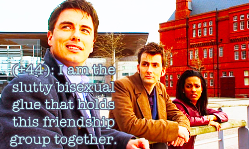 Everyone's favorite nearly immortal Torchwood agent.