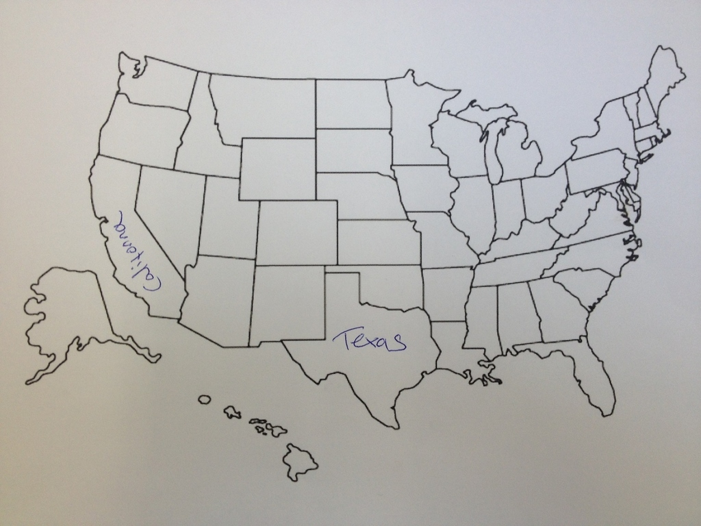 Its Thanksgiving So We Asked Brits To Label The United States We