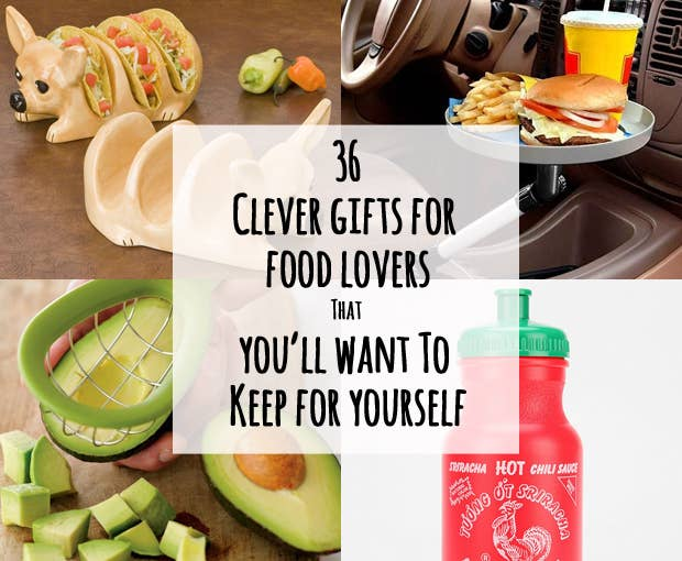 36 clever gifts for food lovers that youll want to keep for yourself share on facebook share forumfinder Choice Image