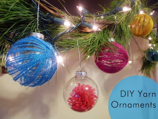 39 ways to decorate a glass ornament yarn ornaments solutioingenieria Image collections