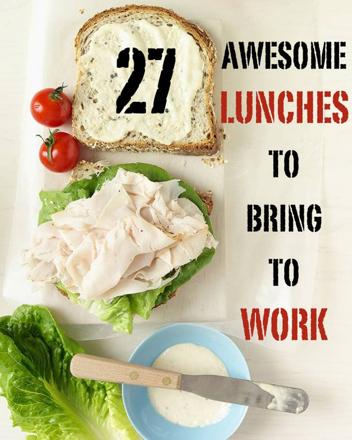 27 awesome easy lunches to bring to work follow buzzfeed on pinterest forumfinder Choice Image