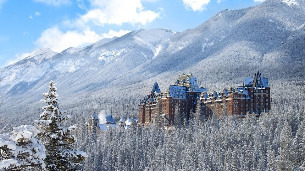 The Banff Springs Hotel in Alberta, Canada