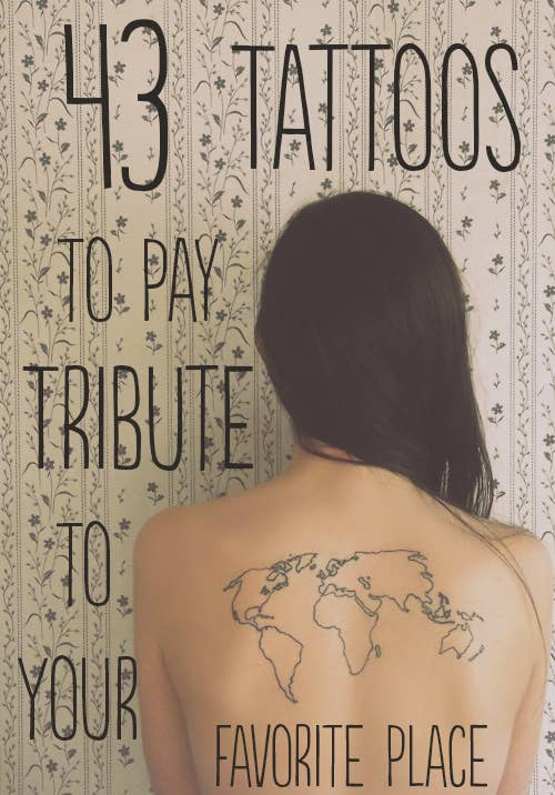 43 rad tattoos to pay tribute to your favorite place share on facebook share gumiabroncs Images