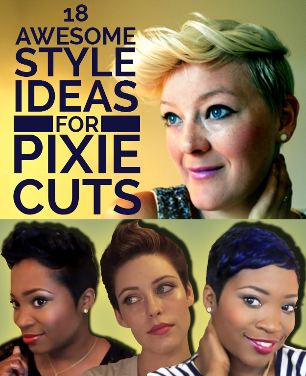 Pleasant 18 Awesome Style Ideas For Pixie Cuts Short Hairstyles Gunalazisus