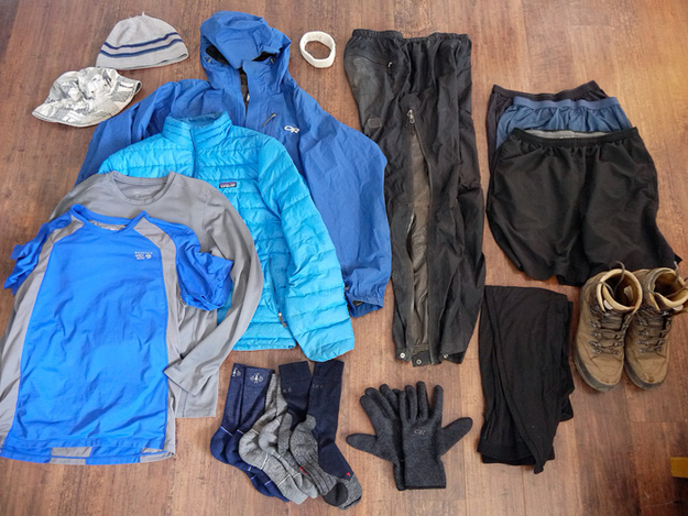If you've got room in your sleeping bag, keep your clothes for the next day in there with you.