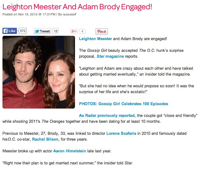 Seth Cohen and Blair Waldorf are getting MARRIED?! This is the Josh Schwartz crossover I've been dreaming about since forever.