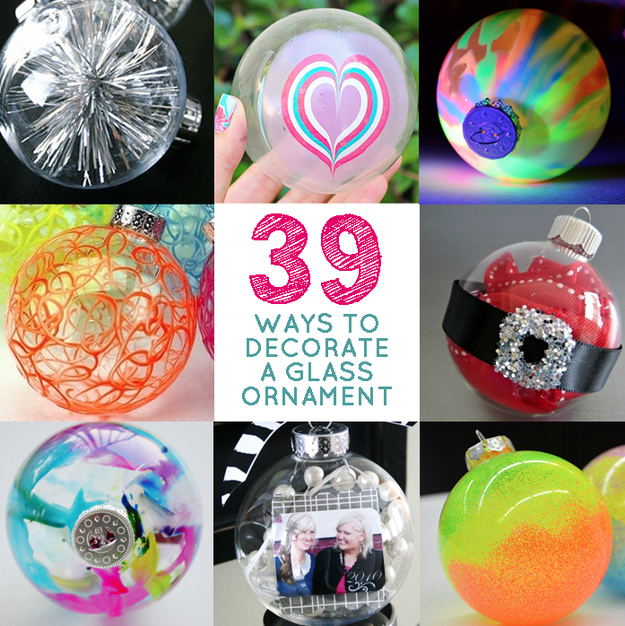 Diy Glass Ornaments: 39 Ways To Decorate A Glass Ornament