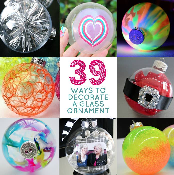 39 ways to decorate a glass ornament share on facebook share solutioingenieria Image collections
