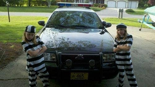 Children of Police Officers have their occasional badass moments, because we can.