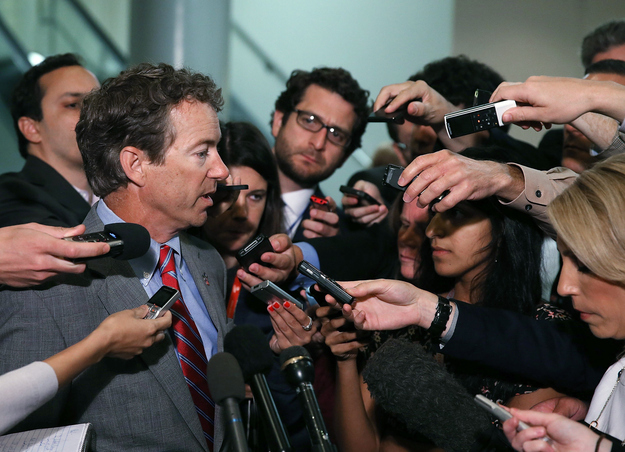 Washington Times Ends Rand Paul's Column After Plagiarism