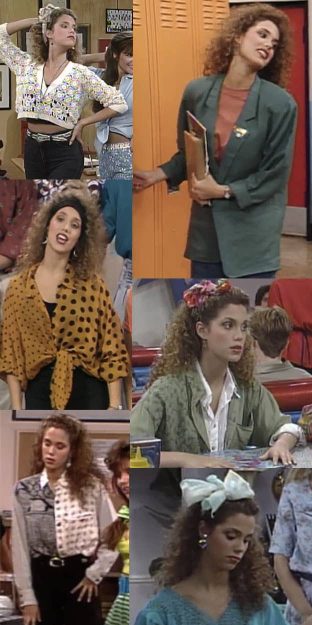 27 jessies wide array of depressing earth tones - Saved By The Bell Halloween Costume