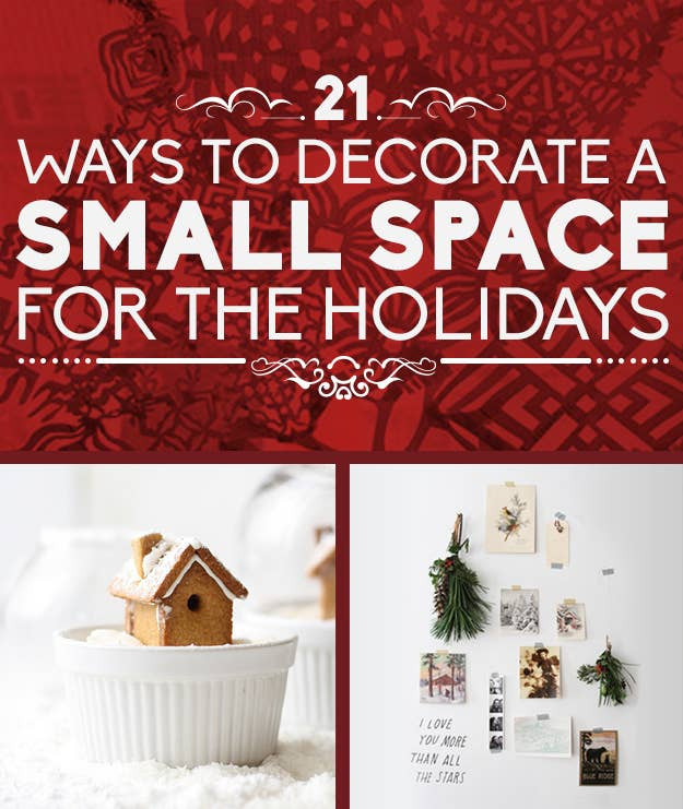 share on facebook share - Christmas Decorations For Small Spaces