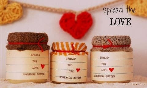 23 diy holiday gifts kids can give to their parents homemade butter and spread solutioingenieria Images