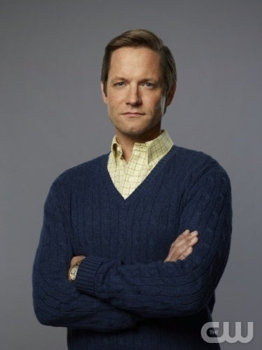 Yes he's the dad, but he's one of the main 10 character and let's face it, he hits the nail on the 80s dad head.Look at that collared shirt over a cable-knit sweater, he's responsible but stylish!