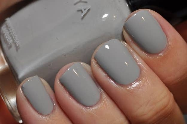 Gray Is The Best Color For Any Manicure