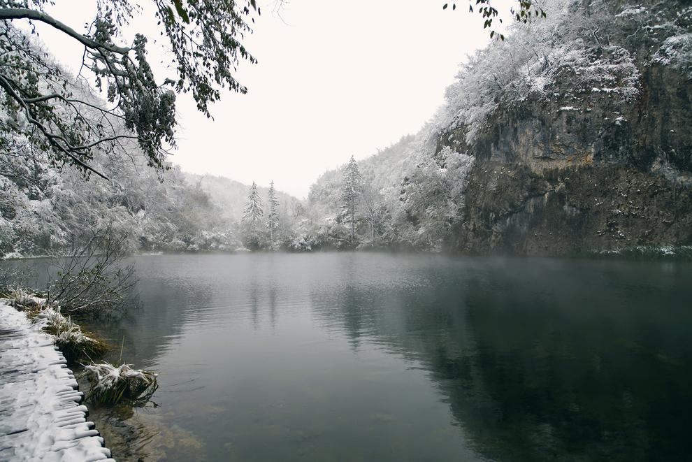 The Plitvice Lakes in Croatia