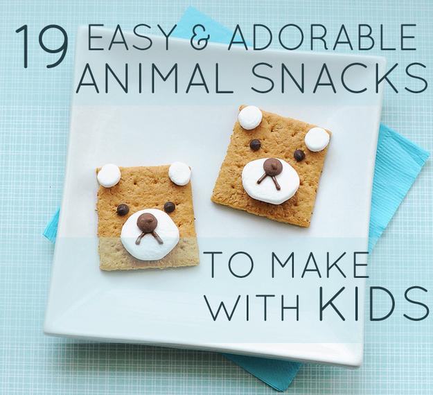 farm animal snacks for preschoolers 19 easy and adorable animal snacks to make with 905