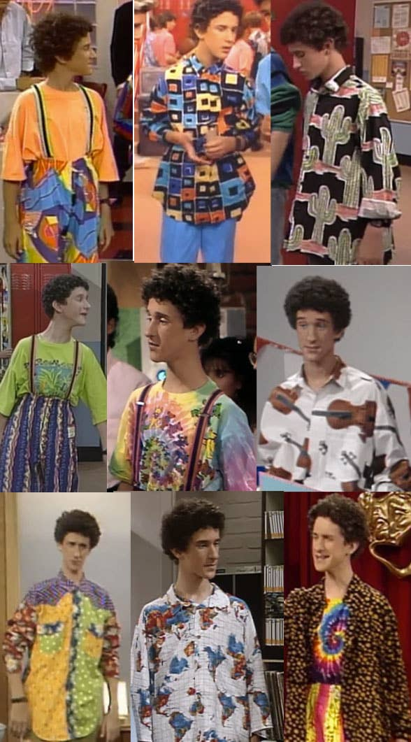 he dgaf - Saved By The Bell Halloween Costume