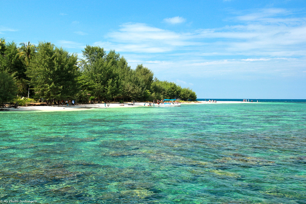 Karimun Jawa Islands in the Java Sea