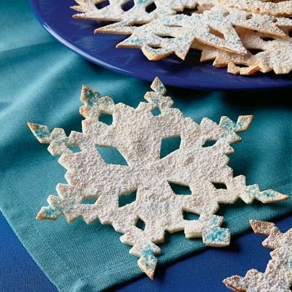 Ever cut a snowflake out of a folded piece of paper? Turns out, tortillas work, too. Instructions here.