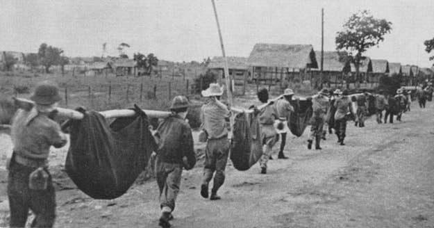 The Bataan Death March, a forced march by the Japanese during WW2, resulted in the deaths of anywhere between 2,500 and 10,000 POWs. Britney didn't do that.