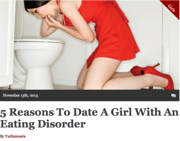 Dating A Popsy With Eating Disorder