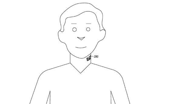 While still only in the patent phase, Motorola hopes these electronic tattoos will be part of the future of mobile voice communication.
