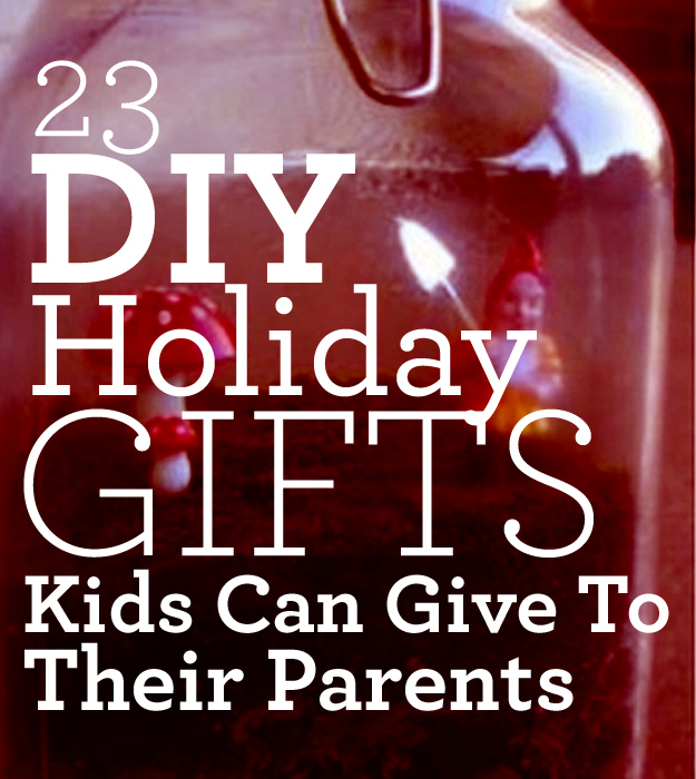 homemade gifts for mum and dad diy holiday gift ideas for parents - Best Christmas Gifts For Parents