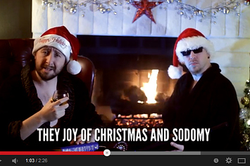 The Most Inappropriate Christmas Song. Ever. NSFW.