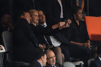 Is This The Most Important Selfie Of 2013?