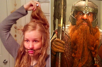 Amazing This Is How To Braid Your Hair Into A Gimli Beard Short Hairstyles Gunalazisus