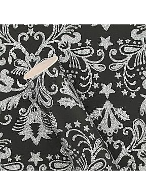 Make an impression by wrapping your presents up in this luxurious black and silver wrapping paper. I've been a big fan of this paper since Paperchase released it a few years ago – it really shimmers and looks incredible under the tree. It's nice and thick too.