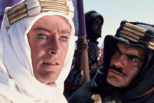 "The NYT describes Peter O'Toole's ""bravura acting"" best:""Mr. O'Toole threw himself wholeheartedly into what he called 'bravura acting,' courting and sometimes deserving the accusation that he became over-theatrical, mannered, even hammy. His lanky, loose-jointed build; his eyes; his long, lantern-jawed face; his oddly languorous sexual charm; and the eccentric loops and whoops of his voice tended to reinforce the impression of power and extravagance."""