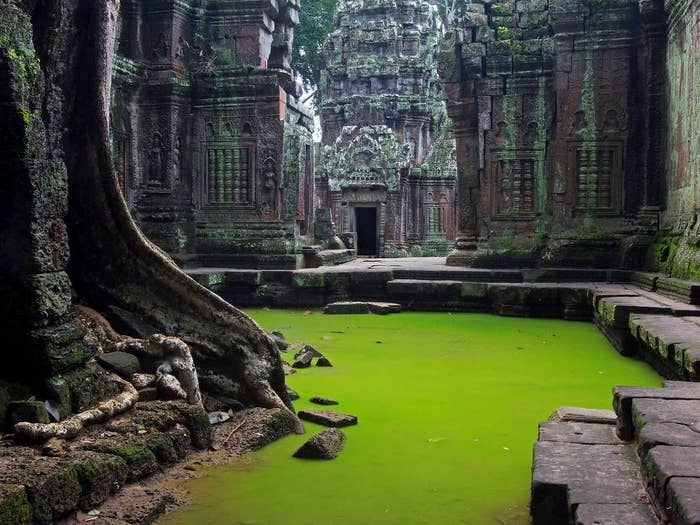 They filmed parts of Tomb Raider here.