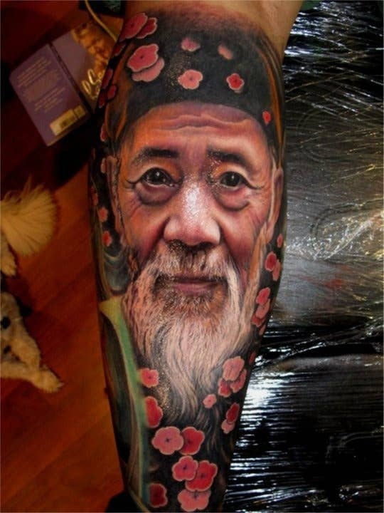 b6d7bc355 25 Jaw-Droppingly Amazing Portrait Tattoos