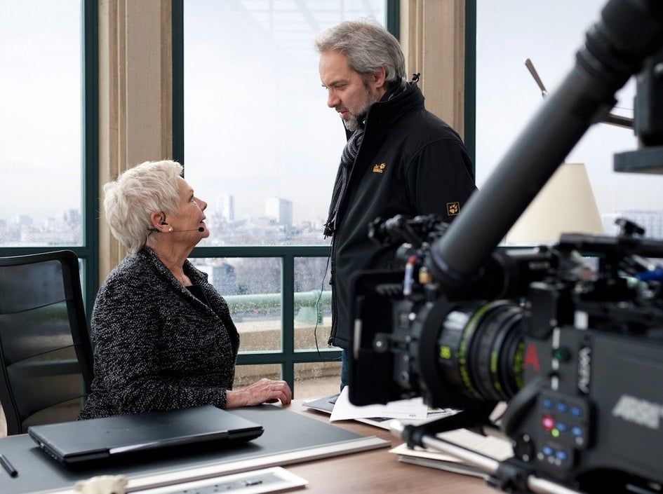 Judi Dench and Sam Mendes