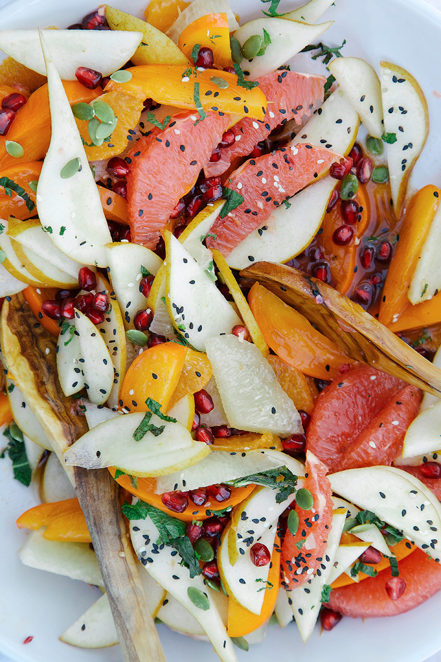 Christmas Brunch Party Ideas Part - 31: 32. Festive Fruit With Rosemary U0026 Vanilla Rooibos Syrup