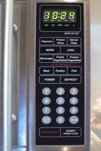 Almost every microwave control panel has about 18 more buttons than necessary. [source: Quora]