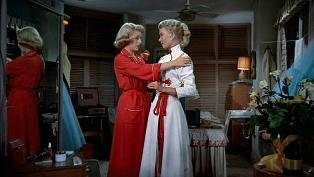 Vera Ellen White Christmas Waist