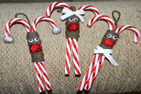 It's reining ornaments… if you make these cute treats from buddymunkadoo.
