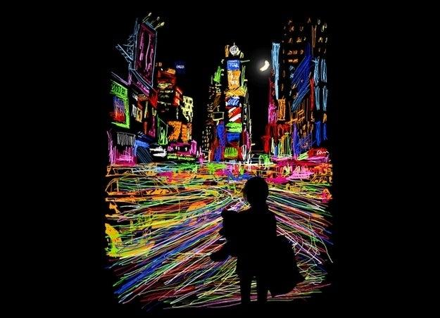 """The City That Never Sleeps"" by Dina Prasetyawan(#4 overall)"