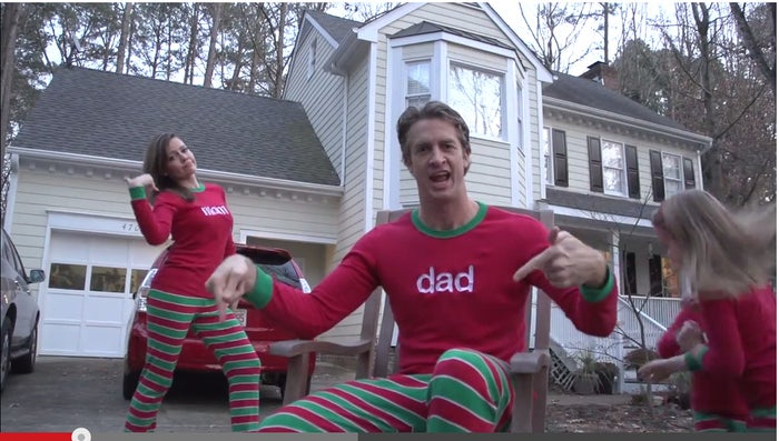 Yes, in case you were confused, these are most definitely Christmas jammies.