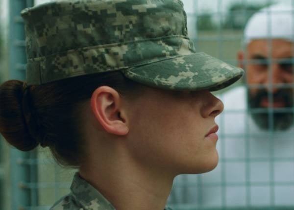 "Kristen Stewart attempts, yet again, to be taken seriously. In Camp X-Ray, she's a prison guard who forms an ""unlikely friendship"" with one of her detainees. Um, remember the last time Kristen formed an ""unlikely friendship""? Yeah... that didn't go over so well."