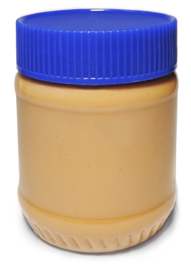 Peanut butter can be a backup shaving cream.
