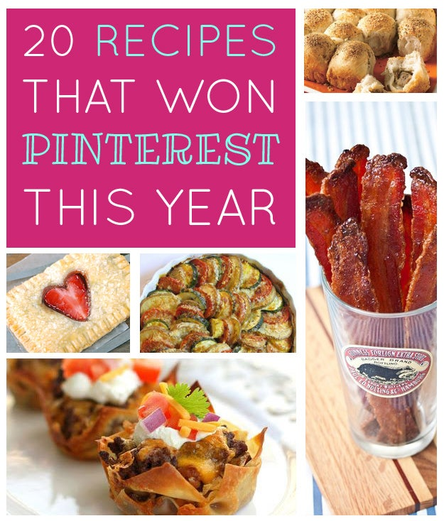 When you're just one single recipe riding the unending tide of nifty / trendy / cutesy / yummy food content that turns up on Pinterest, it takes a certain je ne sais quoi to rise to the top of the heap (although if the quoi is buffalo chicken, you're a shoo-in).Here are the recipe pins that triumphed this year, according to Pinterest's Top Pins of 2013 roundup, along with our (highly unscientific) analysis of why.