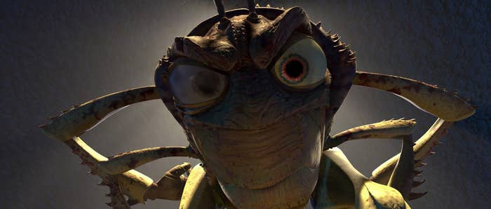 You've just about had it with ants, like Hopper from Bug's Life.