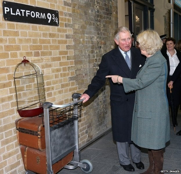 Harry Potter and all the other muggle world living wizards use King's Cross station to transport them to the Wizarding world. You can now visit platform 9 3/4 and dream about what it would be like to be a wizard.
